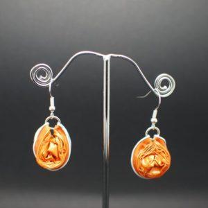 Boucles-oreilles-capsule-boule-orange