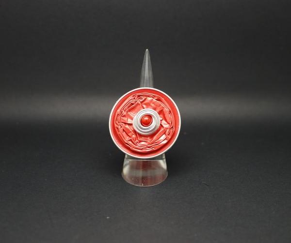 bague capsule-orange-rouge